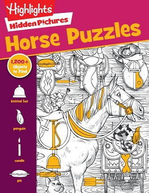 Horse Puzzles Highlights Hidden Pictures