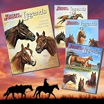 Legends: Outstanding Quarter Horse Stallions & Mares Starter Set (Vol. 1 -4)