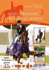 Basic Training for Riding Horses DVD Vol. 3, The 6 year old horse